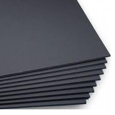 Foamboard 5 mm, svart - 35% rabatt