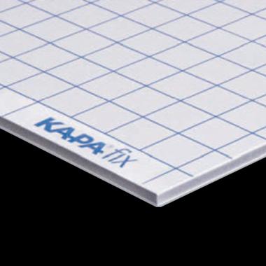 KapaFix® 10 mm, vit självhäftande